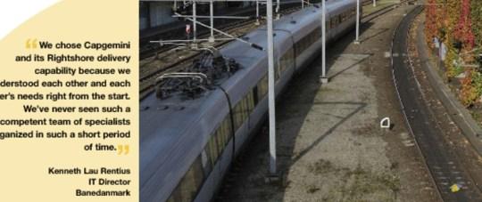 Banedanmark on the Right Track