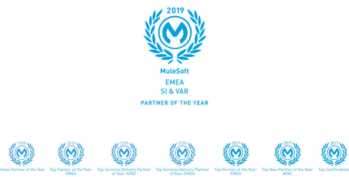 Click here to read about our award winning partnership with MuleSoft