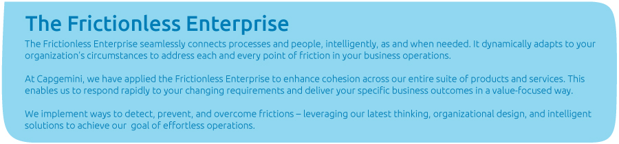 The Frictionless Enterprise
