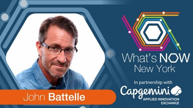 John Battelle - What's Now New York