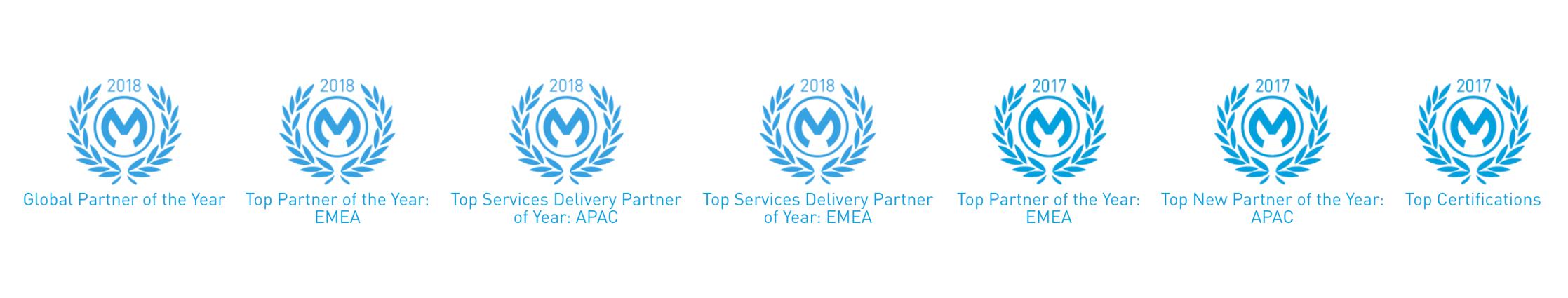 Capgemini named MuleSoft Partner of the year 2018 and 2017