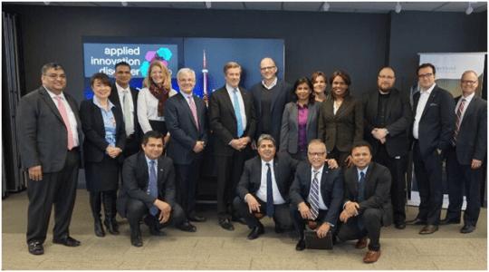Mayor John Tory visits Capgemini Canada's Applied Innovation Discover Centre