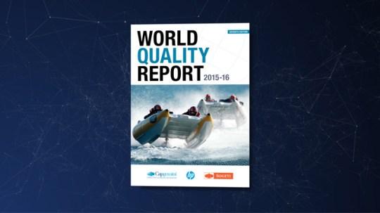 World Quality Report 2015-16 Infografik