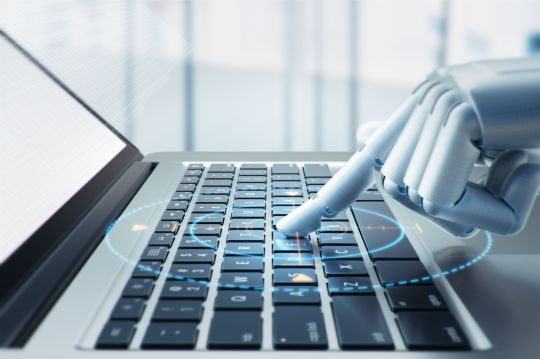 From digitization to algorithmisation: How a Chatbot can combine RPA, AI and ERP