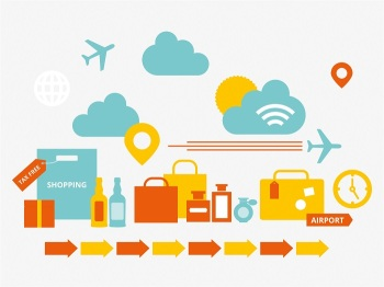 It's all taking off for airport shopping! By Rachael Joy and Samantha Hart