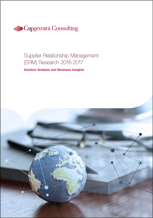 Supplier Relationship Management (SRM) Research 2016-2017: Solution Analysis and Business Insights