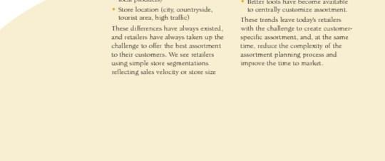 Customer-Centric Assortment Planning
