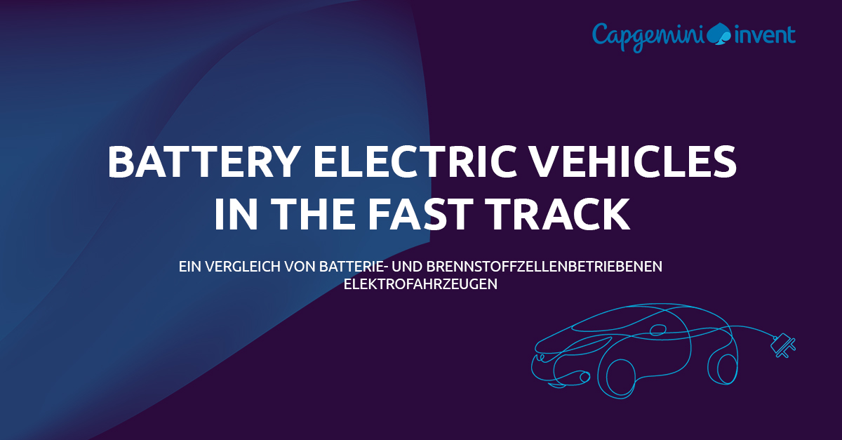 Battery Electric Vehicles in the fast track - Capgemini Invent