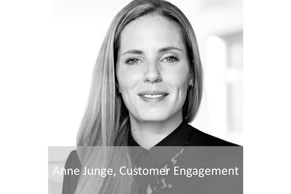 Anne Junge, Customer Engagement