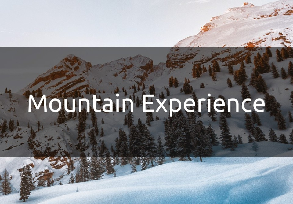 Recruiting Event - Mountain Experience