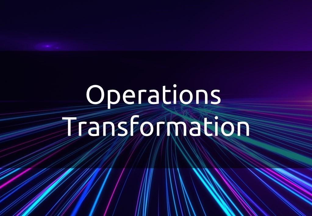 Unit Operations Transformation