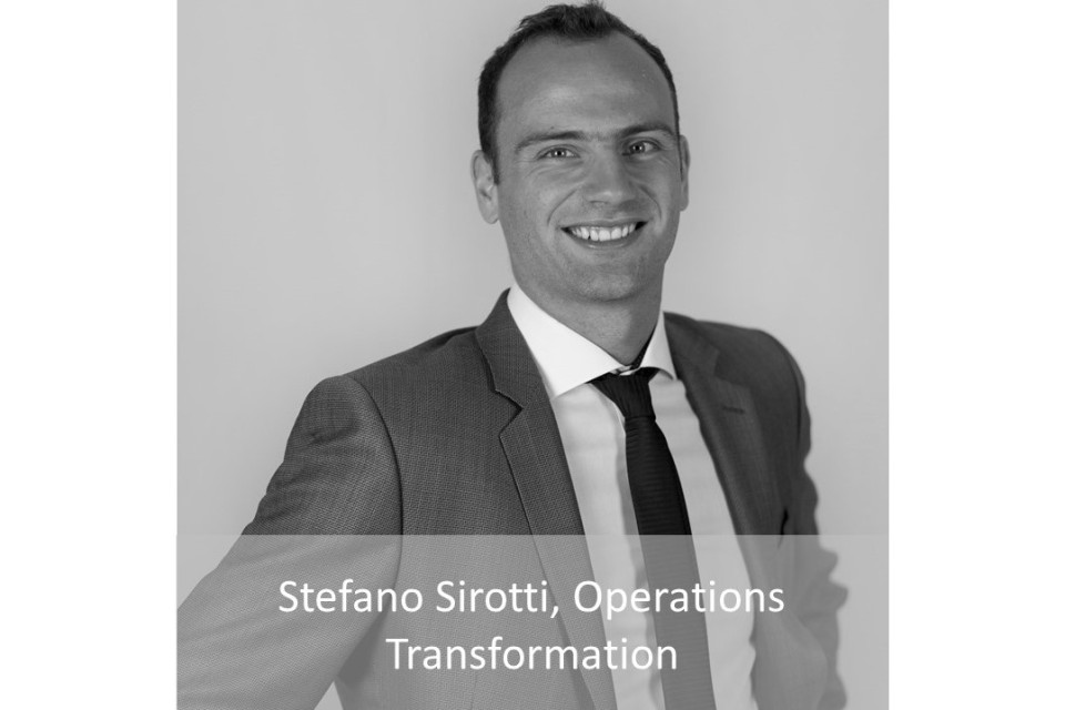 Stefano Sirotti, Operations Transformation