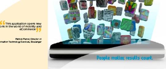 Boulanger lanza su primera aplicación para iPhone