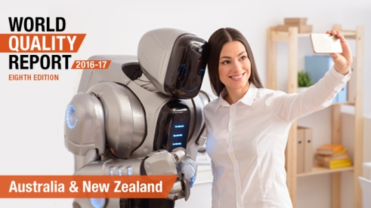 World Quality Report 2016-17: Australia and New Zealand Country Pullout