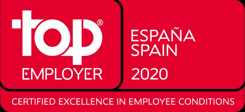 Certificado Top Employer 2020