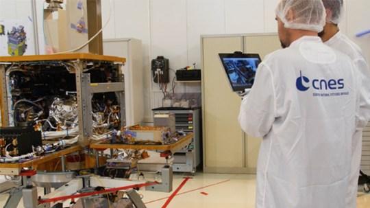 L'usine intelligente appliquée à l'industrie spatiale