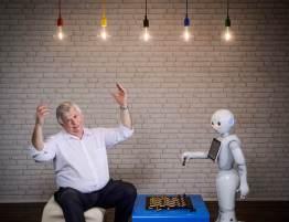Un robot générateur d'émotions