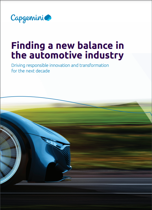 Finding a new balance in the automotive industry