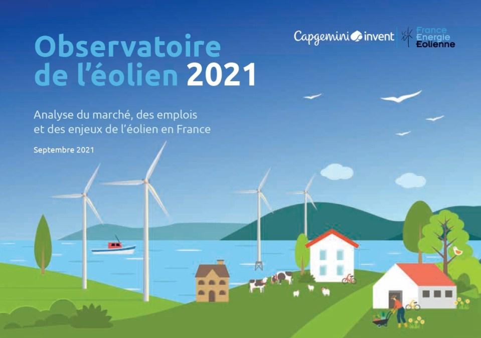 Observatoire eolien en France 2021