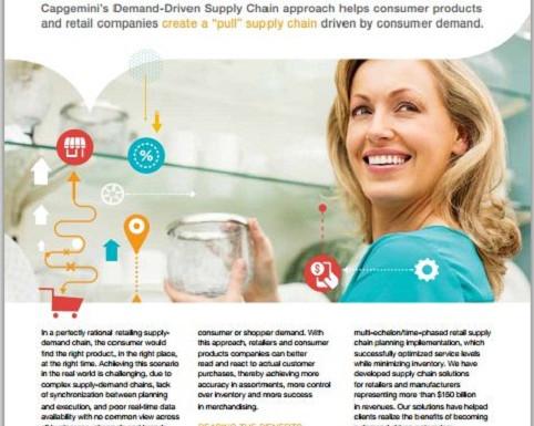 Demand-driven supply chain