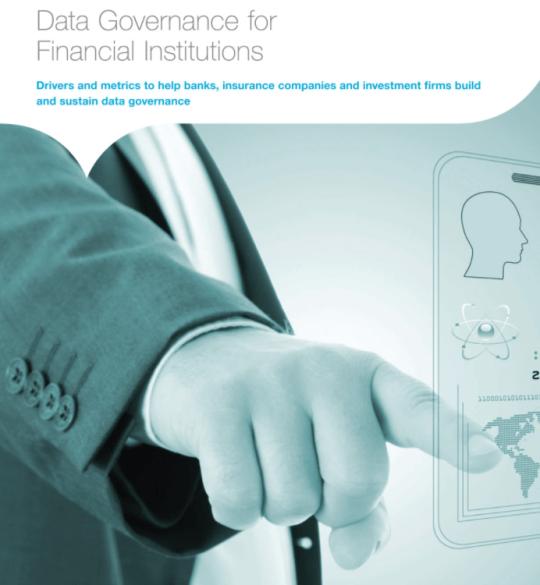 Data governance for financial institutions