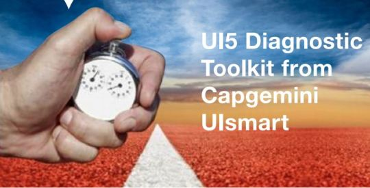 UI5 Diagnostic Toolkit from Capgemini UIsmart