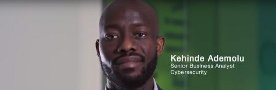 Kehinde Ademolu – Senior Business Analyst, Cybersecurity