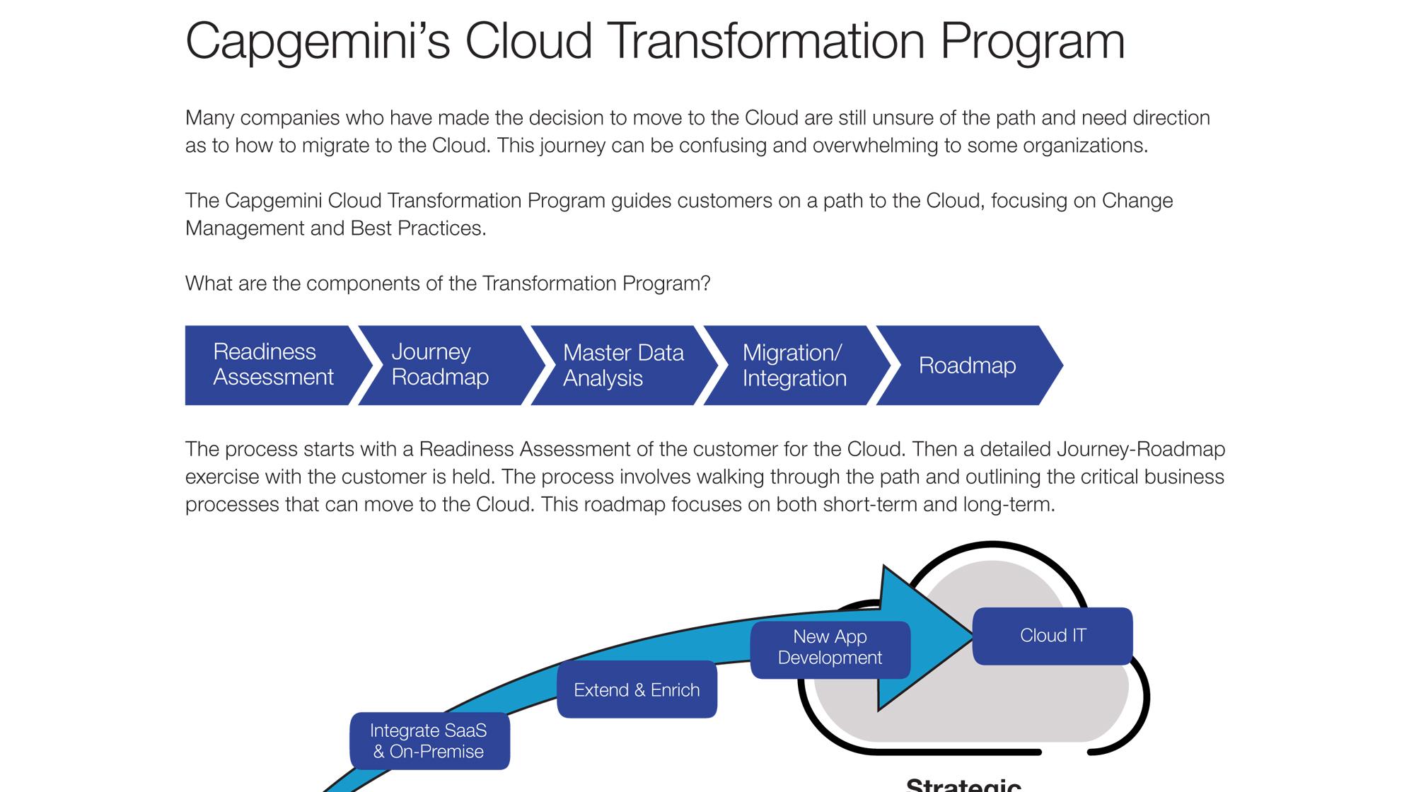Capgemini's Oracle Cloud Transformation – Capgemini UK