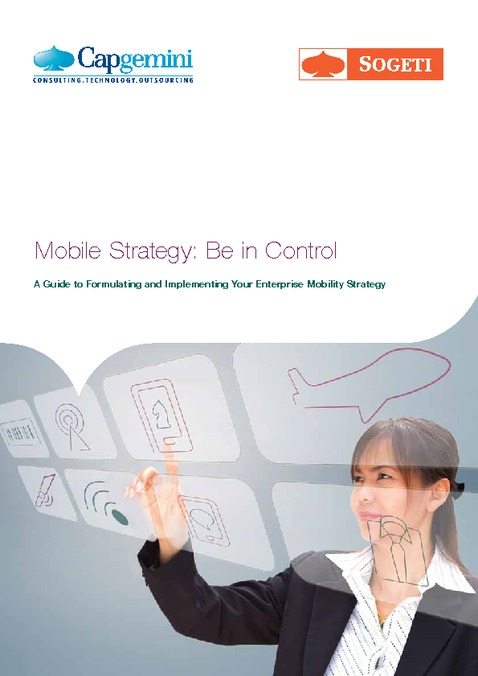 Mobile strategy: be in control