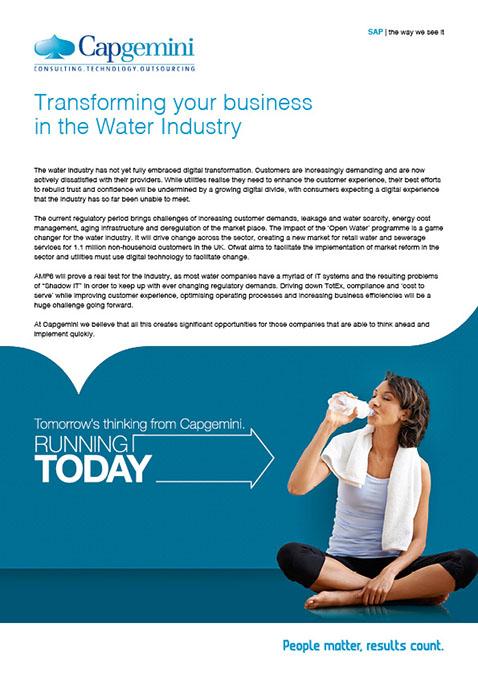 Utilities – Water Industry