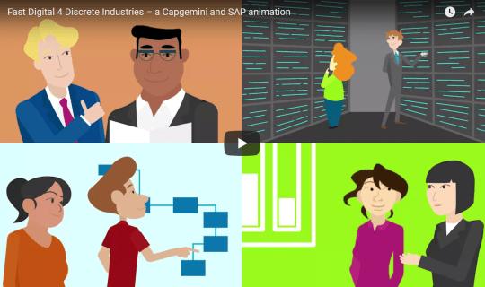 Fast Digital 4 Discrete Industries – a Capgemini and SAP animation