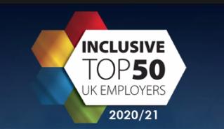 Capgemini UK are in the Inclusive Top 50 Employers