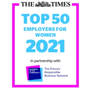 Times Top 50 Employers for Women 2021