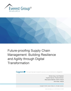 Everest Group Future-proofing Supply Chain Management