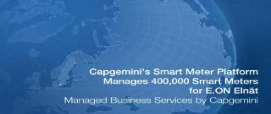 Capgemini's Smart Energy Services Platform