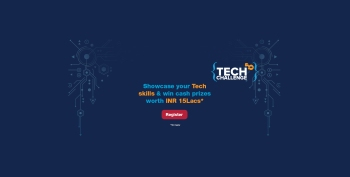 Tech Challenge is back! Win cash prizes worth INR 15 Lacs*