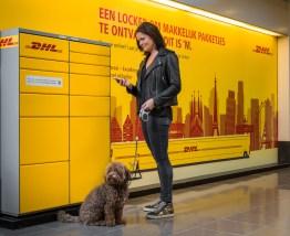 DHL test compacte kluiswand voor pakketten in Nederland
