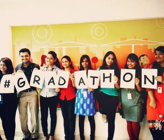 50 years old but young at heart—The Spirit of #Gradathon