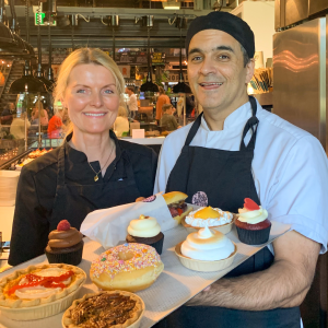 Inger Marie Nordgård and Pierre Chinniah, Cupcake and Pie, Norway
