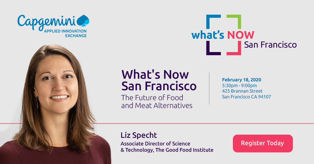 What's Now San Francisco: Liz Specht- The future of food and meat alternatives