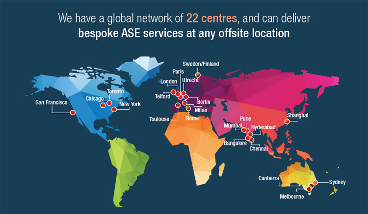ASE Services Map