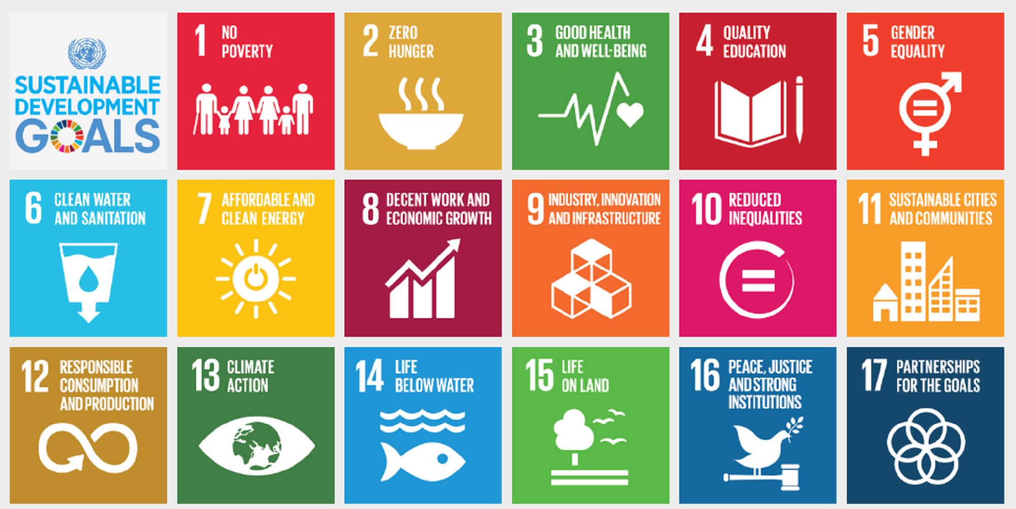 Image result for united nations sustainability goals