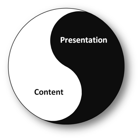 Content and Presentation