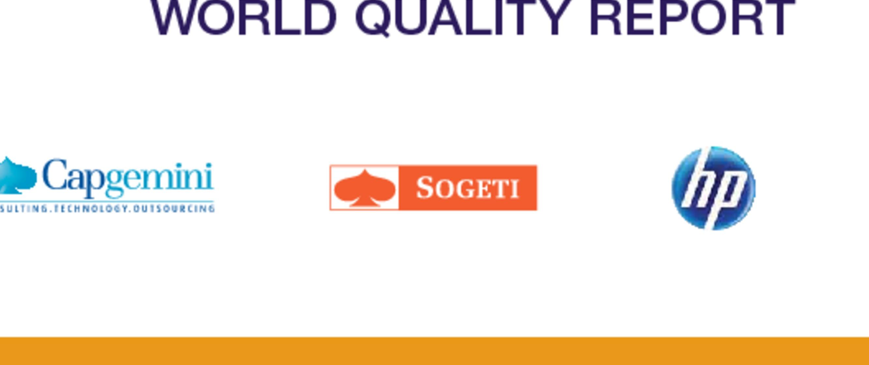 Financial services world quality report capgemini worldwide malvernweather Gallery