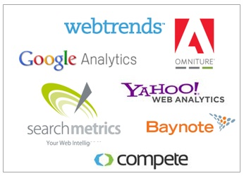 A few companies offering web analytics measurement tools