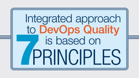 DevOps with Quality – 7 principles, integrated approach to DevOps Quality