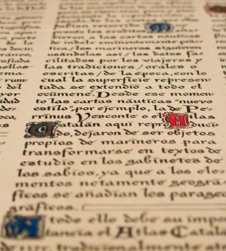 illuminated manuscript typography