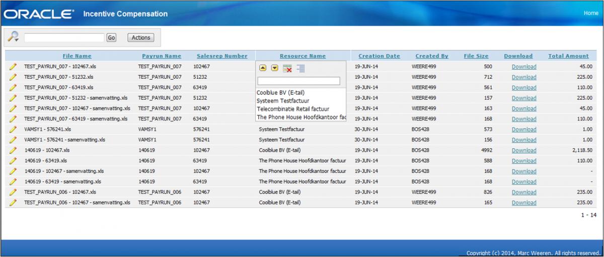 Extending Oracle eBS R12 using Oracle APEX – Capgemini Worldwide