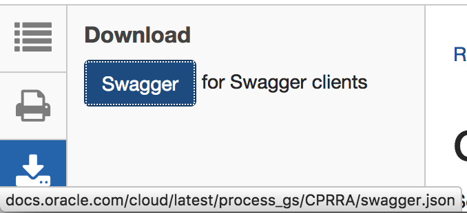 Getting the best oracle api information with swagger and a pinch of 4 download the process cloud api and place the swagger file in the public directory in the nodejs project you might want to rename the json file towards malvernweather Image collections