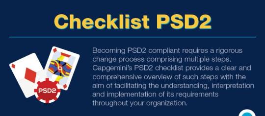 PSD2 Checklist